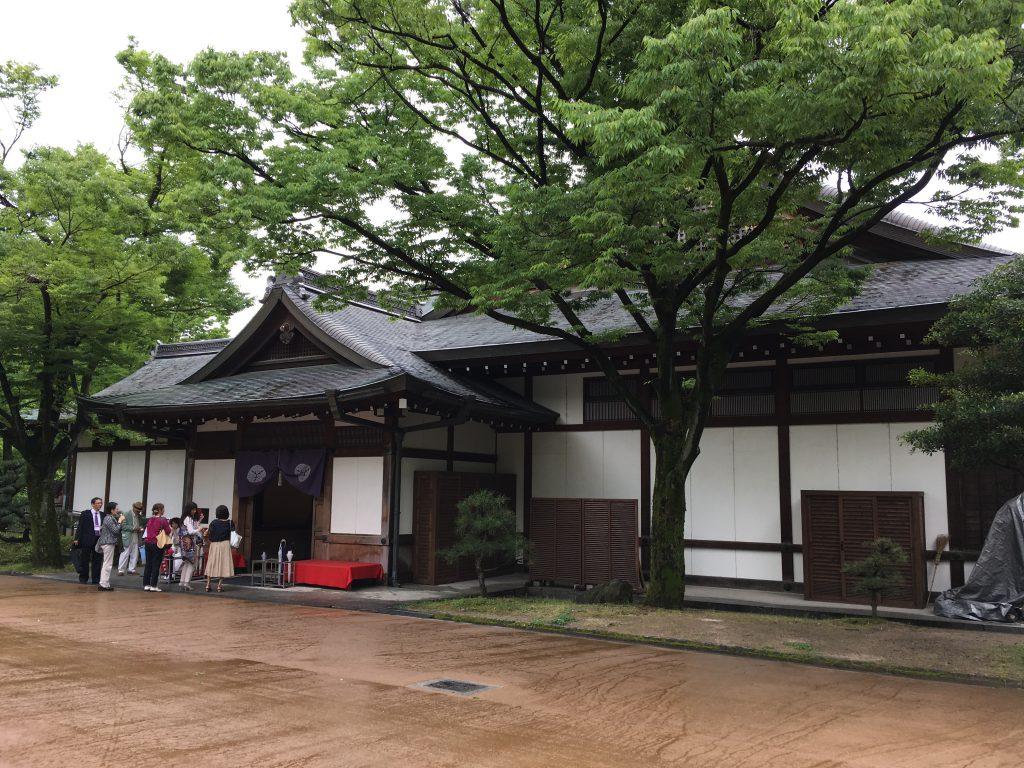 大阪城西の丸庭園大阪迎賓館外観
