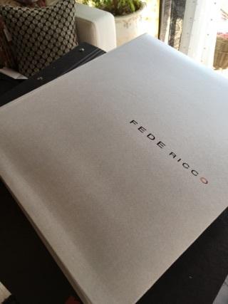 フェデリコの新しいコレクションブックの表紙