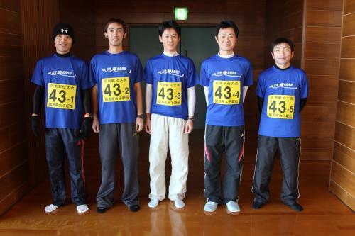 5人の選手たち