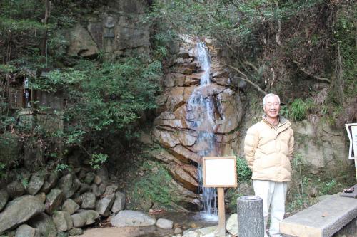 高座の滝と祖父