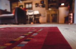 絨毯のアップ