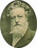 ウィリアム・モリスの肖像画