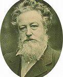 ウィリアムモリスの顔写真