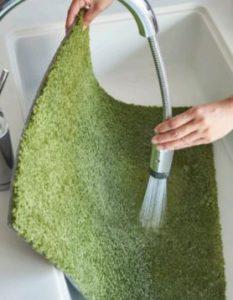 タイルカーペット洗い